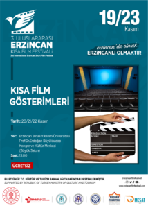 Kısa Film Gösterimleri (Erzincan Binali Yıldırım Üniversitesi)